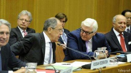 """Лавров и Штайнмайер обсудили предстоящую встречу в """"нормандском формате"""""""