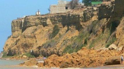 В Севастополе обрушилось 70 метров береговой линии