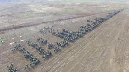 Учения российских военных в Крыму