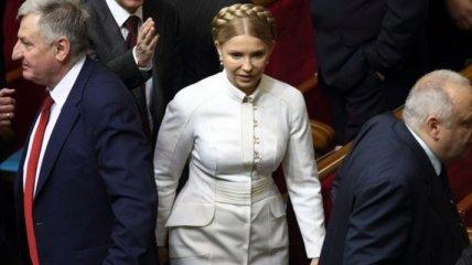 Тимошенко предлагает Раде официально попрощаться с ЕЭП