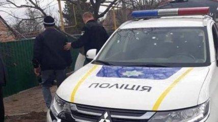 В Запорожской области в полицейских бросили гранату: офицеры получили осколочные ранения