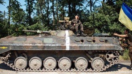 Бойцами Нацгвардии уничтожены под Амвросиевкой КамАЗы террористов