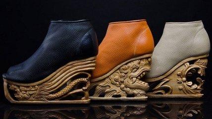 Необычная обувь ручной работы от вьетнамских дизайнеров (Фото)