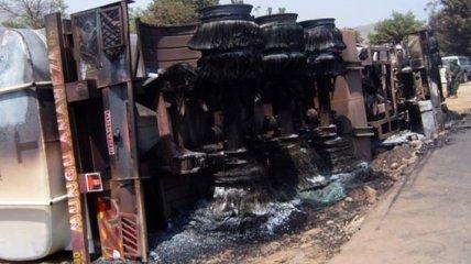 Авария бензовоза в Конго: В стране объявлен трехдневный траур