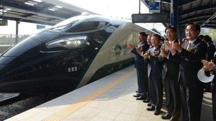 Южнокорейский суперэкспресс развил на испытаниях скорость 354 км/ч