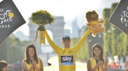 """Победитель """"Тур де Франс-2015"""" стал кавалером Ордена Британской империи"""