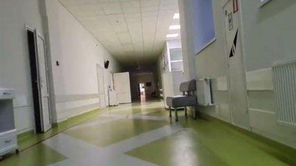 Больной коронавирусом основатель сообщества о ЧП в Киеве показал условия в Александровской больнице