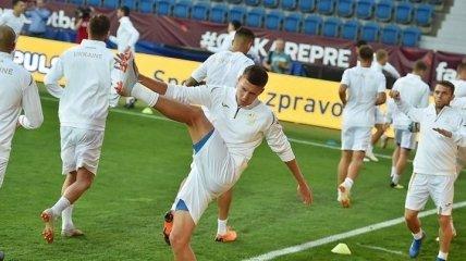 Шевченко назвал окончательную заявку сборной Украины на матч против Чехии