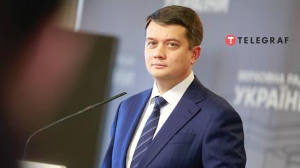 Разумков не стал исключать того, что пойдет в президенты Украины