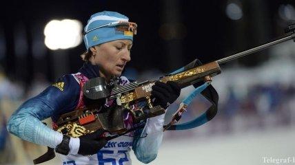Вита Семеренко завоевала бронзовую медаль в спринте в Анси