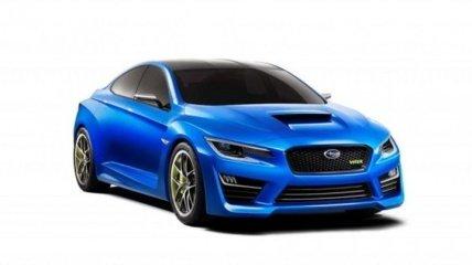 Новое поколение Subaru WRX