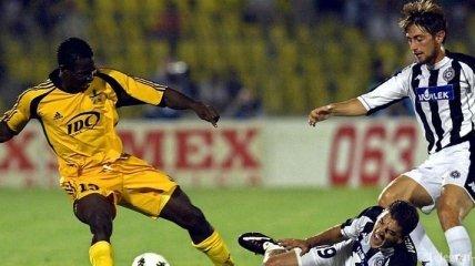 Во Франции футболист умер прямо на поле