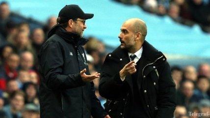 Манчестер Сити - Ливерпуль: слова тренеров перед игрой