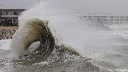 Из-за приближения тайфуна в Японии отменили почти 260 авиарейсов