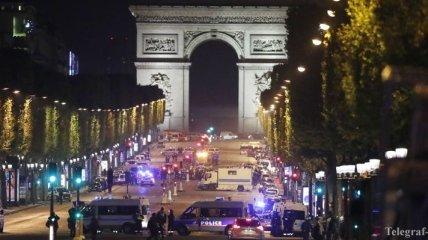 Теракт в центре Парижа