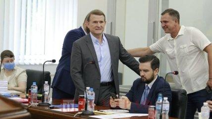 Заседания суда по делу Виктора Медведчука