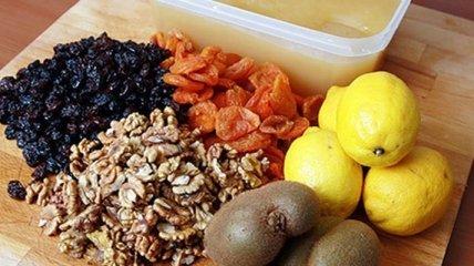 Вкусные витаминные смеси для повышения иммунитета
