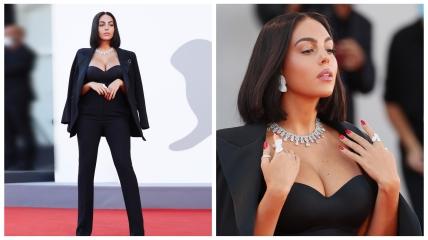 Джорджина Родригес на Венецианском кинофестивале-2021