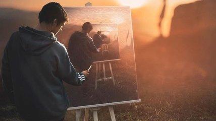 Удивительные миры в работах цифрового художника (Фото)