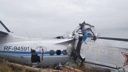 L-410 после авиакатастрофы в Татарстане