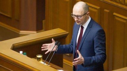 Яценюк: Украина реверсом может получить 15 млрд кубометров газа