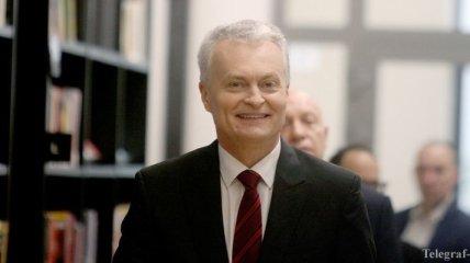 Новоизбранный президент Литвы сообщил о своей позиции по Украине и России