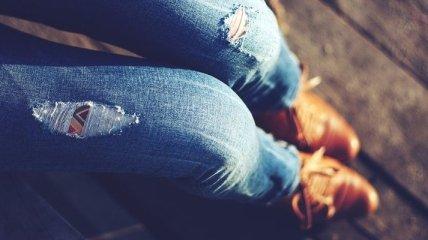 Мода 2019: стильные образы с джинсами mom