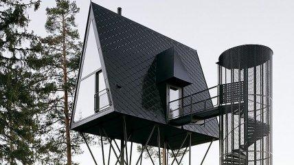 Фантастические домики для отдыха в лесах Норвегии (Фото)