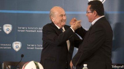 Блаттер предложил провести матч мира между сборными Израиля и Палестины