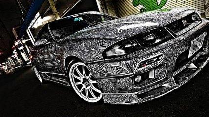 Удивительно красивая роспись автомобиля от прирожденных креативщиков (Фото)
