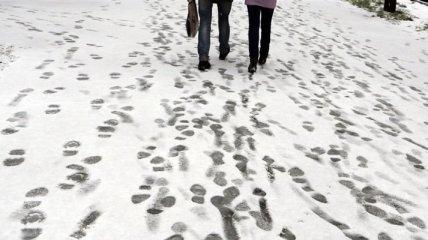 В Украине ожидают мокрый снег