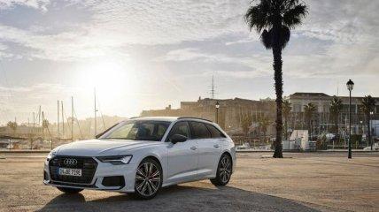 Audi A6 получил гибридную силовую установку