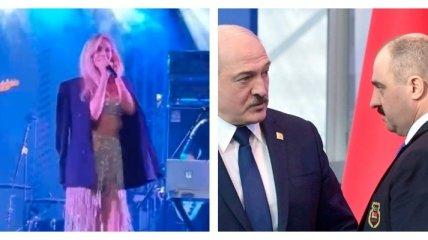 Веру Брежневу заметили на вечеринке Лукашенко (фото, видео)