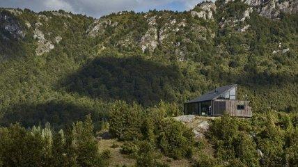 Необычайно уютный домик в Чили для любителей уединенной жизни (Фото)