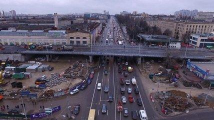 Кличко обещает к лету завершить все работы на Шулявском путепроводе