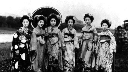 Гейши - японские соблазнительницы (Фотогалерея)