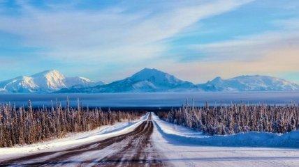Прекрасные пейзажи и природа Аляски (Фото)
