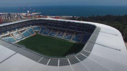 """Играть на поле больше нельзя: что стало со стадионом """"Черноморец"""" после концертов Коржа и Монатика (фото)"""
