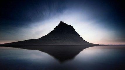 Голубая Исландия: потрясающие пейзажи исландских мест (Фото)