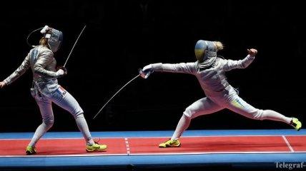 Украинские саблистки пробились в полуфинал Олимпийских игр в Рио