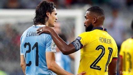 Сборная Уругвая разгромила Эквадор на Кубке Америки