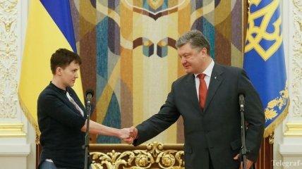 Савченко: Я буду работать, чтобы Украина была сильной
