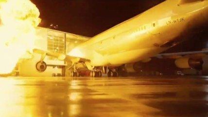 """""""Довод"""": Нолан на съемках разбил Boeing 747"""