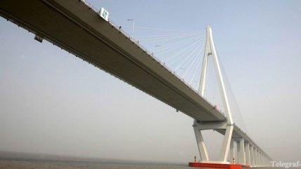 Самый длинный мост находится в Китае - Ханчжоу Бэй, 36 км