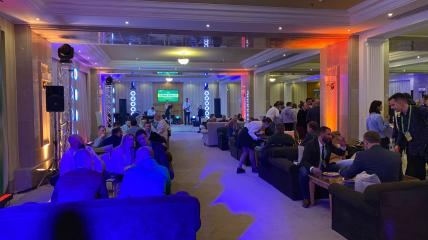 Вечер в отеле Rixos в Трускавце проходит в непринужденной обстановке