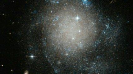Хаббл сфотографировал галактику, похожую на выпечку