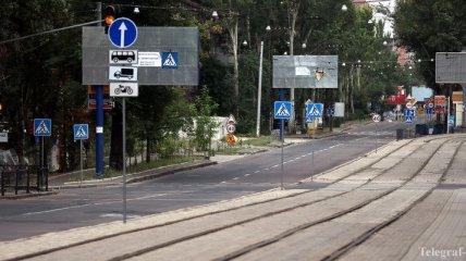 Автобусное сообщение из Донецка закрыто с 9 городами