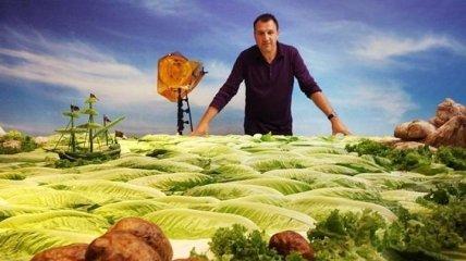 Еду можно не только есть: крутые пейзажи из продуктов (Фото)