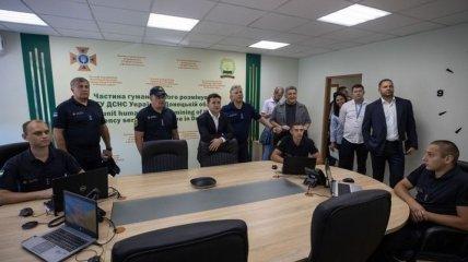 Зеленский и Аваков поучаствовали в открытии Центра разминирования ГСЧС в Мариуполе