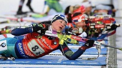 Украинская биатлонистка может пропустить весь сезон